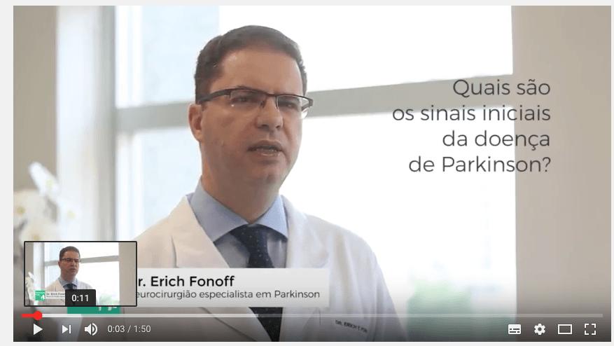 Dr. Erich Fonoff Responde: Quais são os sinais iniciais do Parkinson