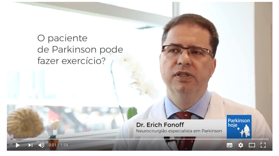 Dr. Erich Fonoff fala sobre Parkinson e atividade física