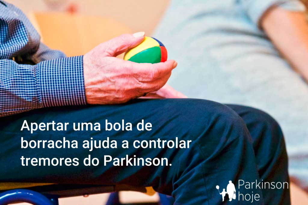 tremor de parkinson