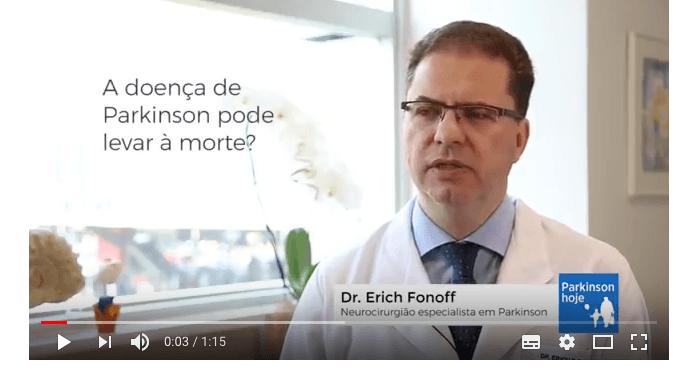 Dr. Erich Fonoff fala sobre doença de Parkinson e morte
