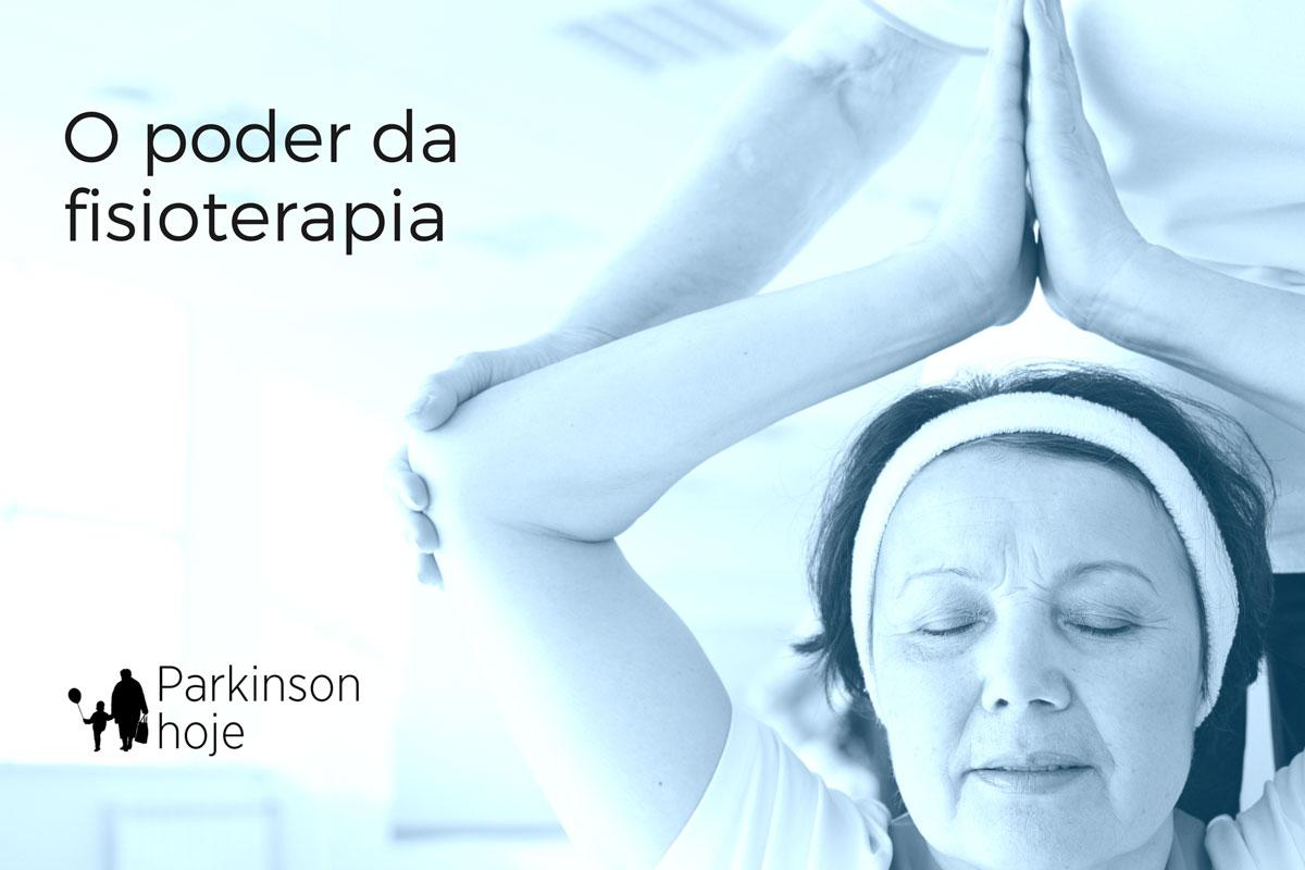 Fisioterapia especializada traz mais benefícios aos pacientes de Parkinson.