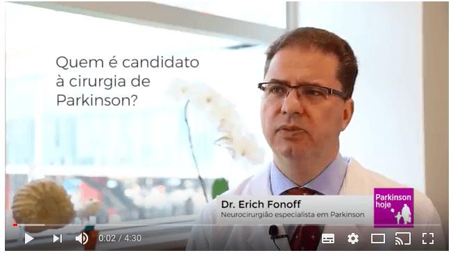 Dr. Erich Fonoff responde quem é candidato à cirurgia