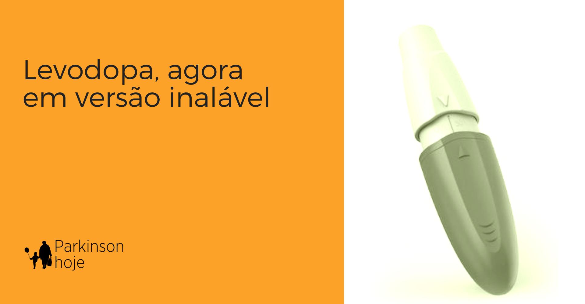 inbrija, versão inalável de levodopa